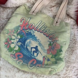 Hollister Canvas Tote Bag or Beach Tote